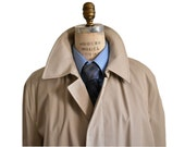 Dashing Men's Spring Raincoat Oleg Cassini - Large Coat