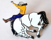 SALE 40% OFF with COUPON Rodeo Pin - Bucking Bronco