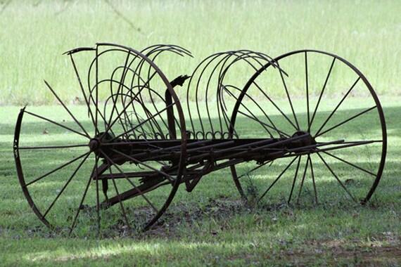 Old Hay Rake