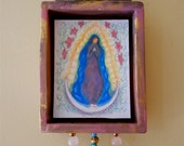 Virgin of Guadalupe wall shrine (gua005).  Patron Saint of Mexico, Our Lady of Guadalupe, by Robin Whealdon/Nansee New, Casa Luz