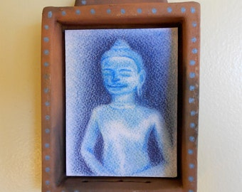 Blue Buddha Shrine (bb001)