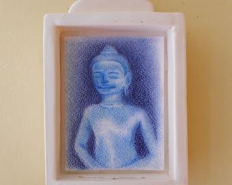Blue Buddha Shrine (bb004)