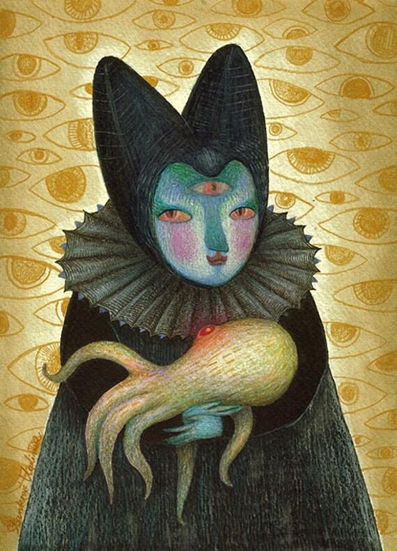 Her Majesty - Original artwork