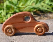 Fastback Redwood Toy Wood Car