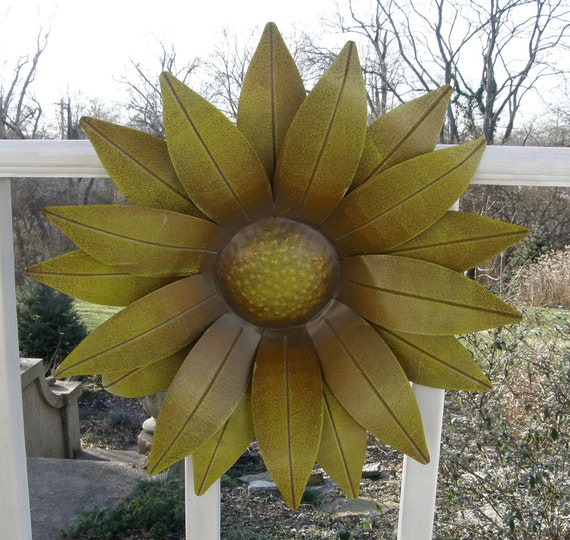 Vintage Sunflower Wall Decor : Sale vintage sunflower wall decor remember when by