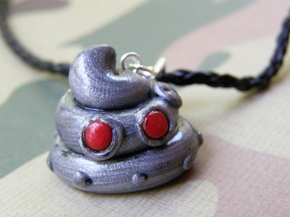 CLEARANCE Robotic Poop Necklace