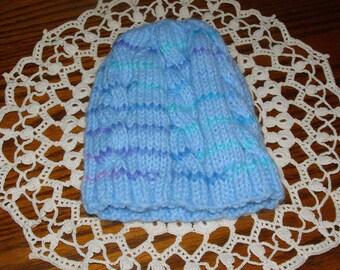 Baby Knit cap/beanie Keep that head warn 9-18 months