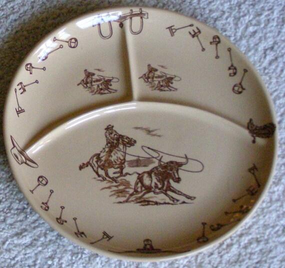 Vintage Western Dinnerware 15
