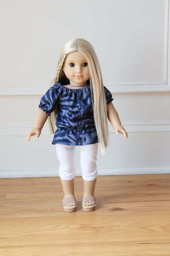 American Girl Doll Clothes - Top and Leggings