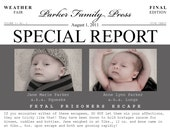 Fetal Prisoner Baby Announcement