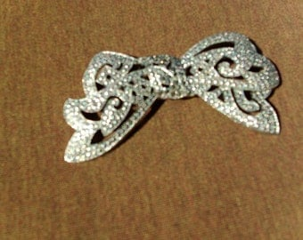 Victorian Vintage Marcasite Pin