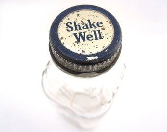 Hires Root Beer Extract Glass, Shake Well, Home or Kitchen Decor