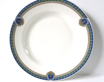 Historic New Jersey Hotel Plate With Seaside Accents, Vintage Hotel Traymore
