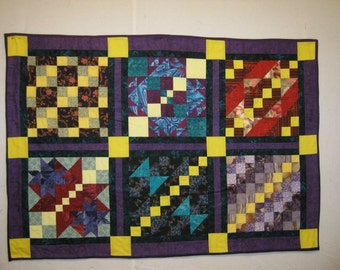 Sunbeams Lap Quilt or Baby Quilt