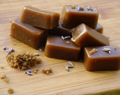 Vegan Organic Lavender Brown Sugar Caramels