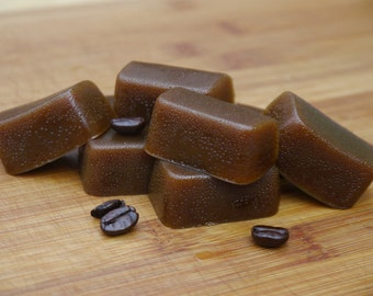 Vegan Organic Fair Trade Espresso Caramels
