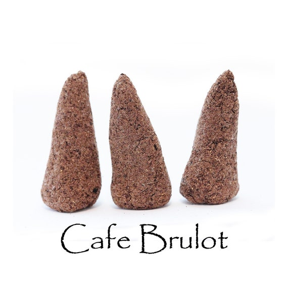 Hand Made Incense Cones, Håndlavet røgelse, duften af kaffe