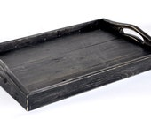 Black Breakfast Tray / Serving Tray - comes in any color