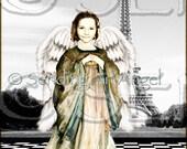 Higher Being Angel Faye Custom Design Made For You Digital Wall Art Deco Fine Art
