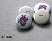 Set of 4 Love Magnets