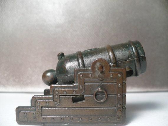 Siege Mortar - Miniature Metal War Cannon