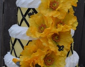 Bumble Bee for a Mommy to Bee 3 Tier Diaper Cake