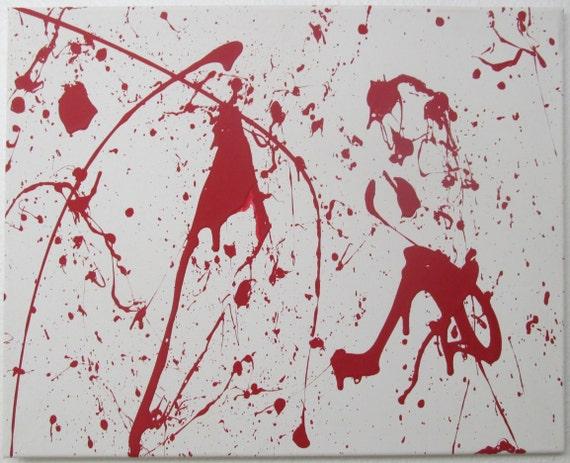 dexter blood splatter poster - photo #1