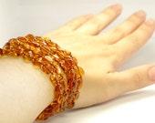 Baltic Amber Necklace, Bracelet Or Anklet 313