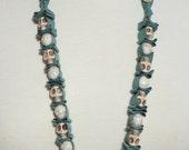SKULLS GALORE Ribbon Necklaces