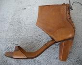 Diesel Style Lab Original  Shoes Vintage Sabot Leather Handmade  sz. 39/9/6
