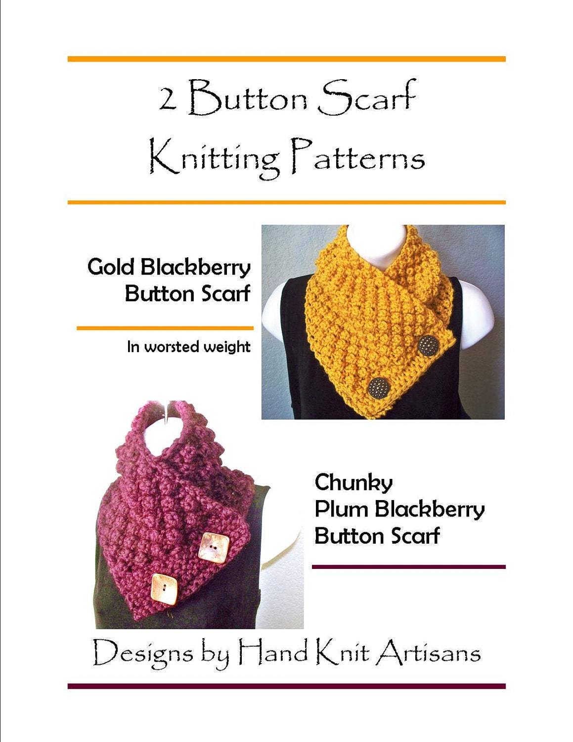 Knitting Pattern For Scarf With Buttonhole : Chandeliers & Pendant Lights