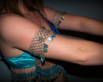 Egyptian Style Beaded Armbands, Made to Order