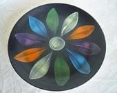 Retro Flower Plate