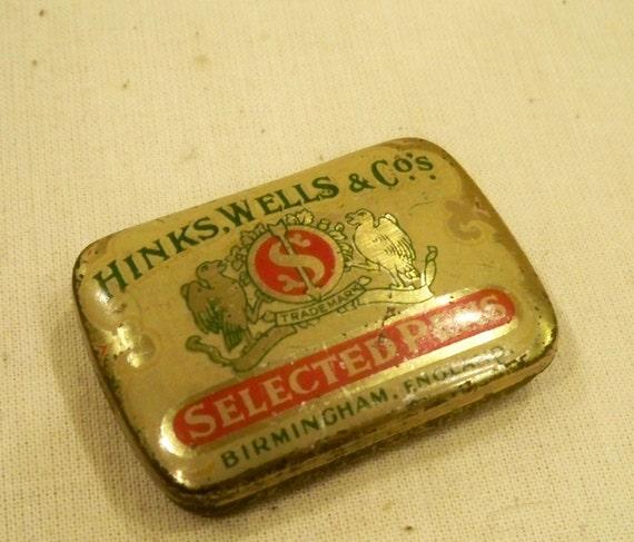 Tiny vintage tin
