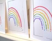 "Five Originals ""Far Away Flowers ""  Watercolor Cards Blank With Envelope betrueoriginals"
