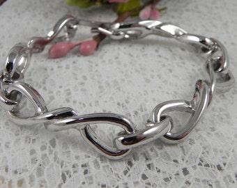 Avon Silver Chain Bracelet