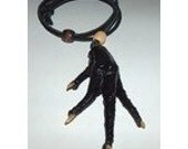 "Black Voodoo ""REAL"" Chicken Foot Necklace"