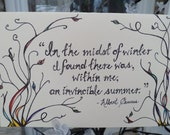 """Greeting Card- """"An Invincible Summer"""""""