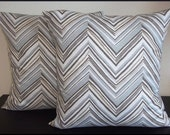 2 Pillow Covers 16 x 16 inch -Free Shipping - Robert Allen Home Decor Fabric