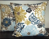 2 Pillow Covers 16 x 16 inch -Free Shipping - Richloom Invigorate Home Decor Fabric