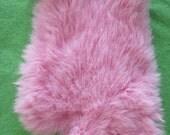 Special Intimate Valentine's Date Soft Rabbit Fur Soothing Massage Mitt