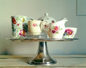 Vintage Tea Set - With Cake Stand - Mix and Match