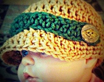 Newsboy hat- PDF pattern