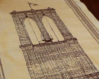 Brooklyn Bridge Tea Towel