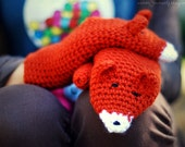 Fox Mittens Gloves Gift Wool Crochet Winter Woman Girl Teens Christmas Gift Gift Cozy Ginger Red Forest Animals Woodland