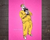 Walter - The Big Lebowski Limited Edition Screen Print