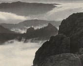 Vintage Magazine  Page: Mountains in a Land of Plains
