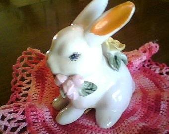 Vintage Bunny figurine, Treasury item