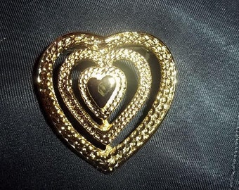 Valentine Heart Brooch