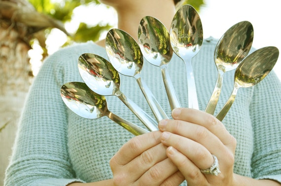 7 Hand Engraved Will you be my Bridesmaid spoon useable- WITH PERSONALIZATION